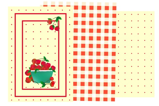 Cherries Tea Towels